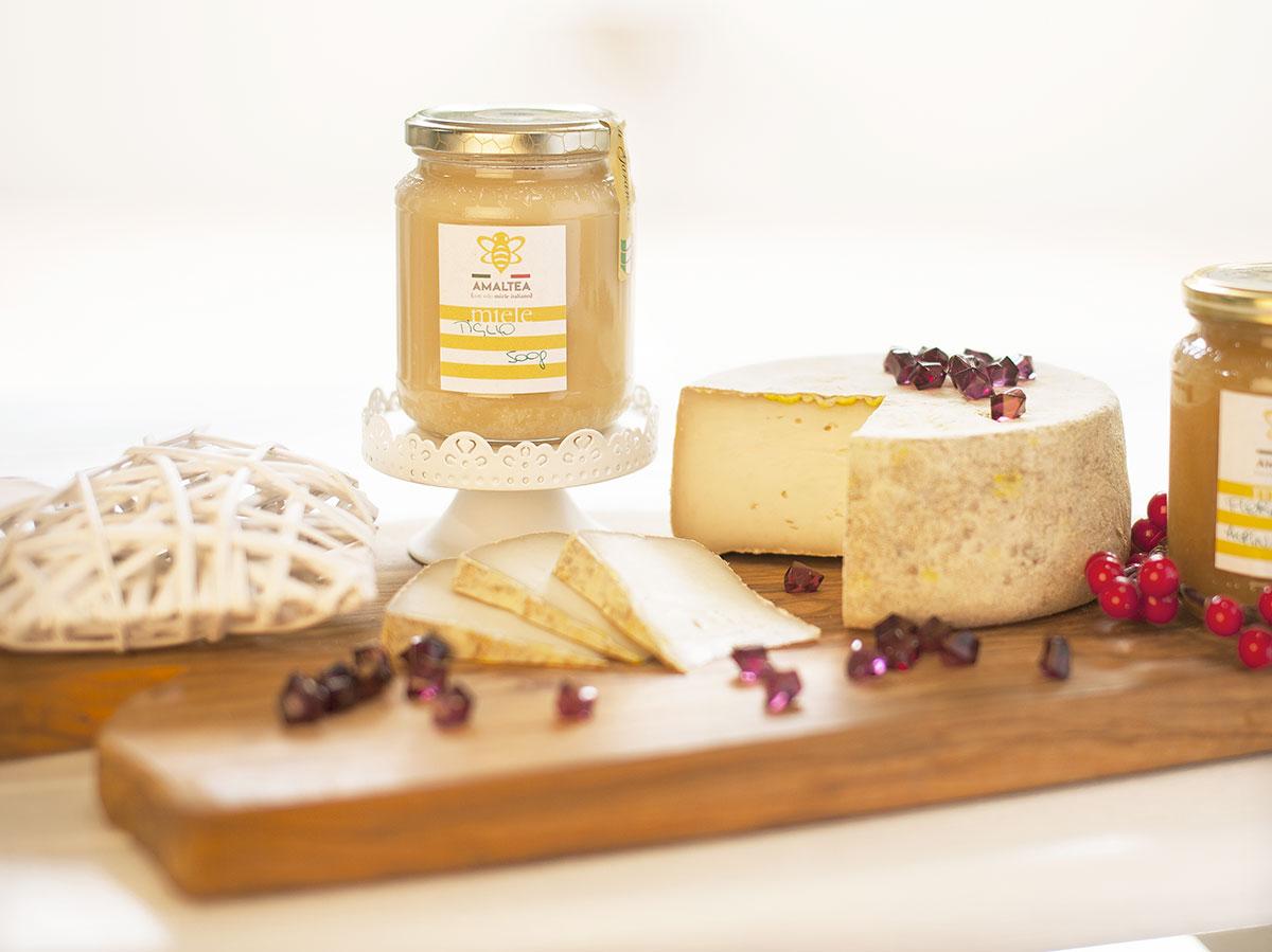Formella Formaggio Capra+miele